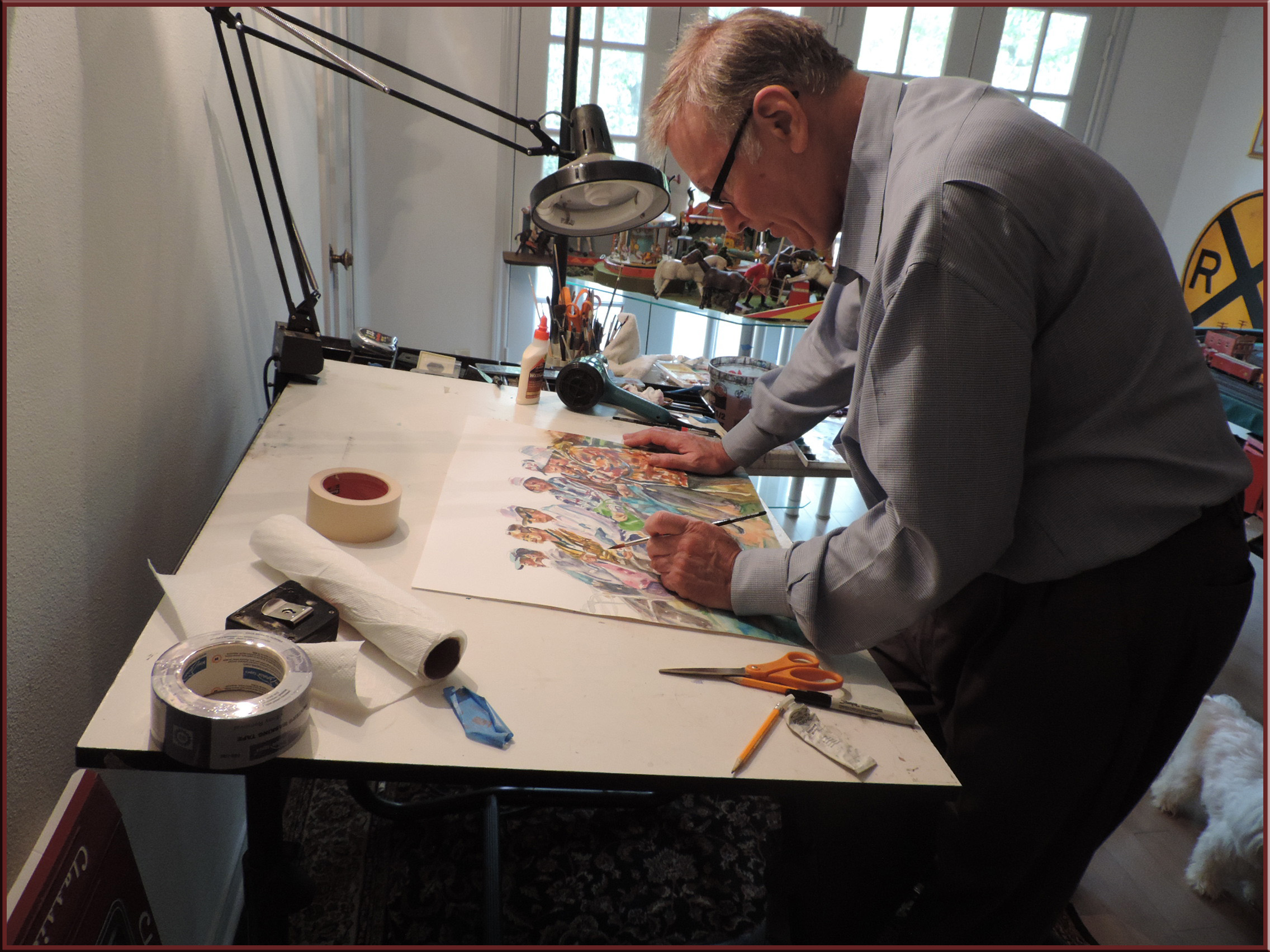 Watercolor art society of houston -  Houston Watercolor Society And Has Had Works Accepted For Their International Watercolor Show Larry Has Shown His Work In One Man Art Shows Throughout